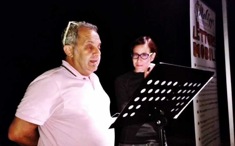 """Luca """"il Gatto"""" e l'Elvi danno doppia voce alla poesia di Gianni Fucci"""
